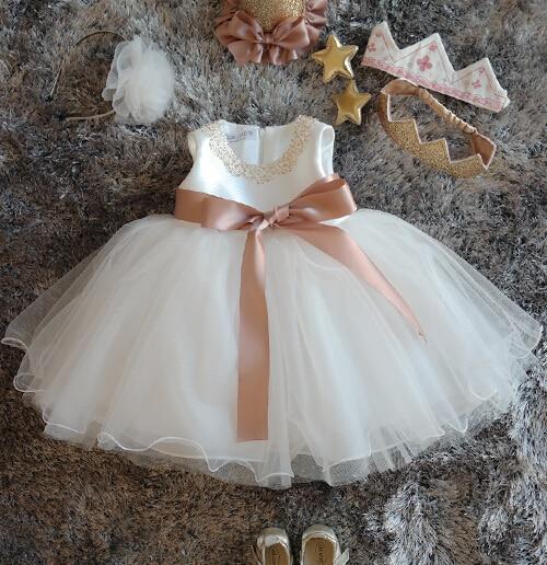Bling Summer White Flower Girl Dresses Beadings And Ruffles Frocks Baby Tutu 1st Birthday kora набор интенсивное увлажнение и защита для лица маска увлажняющая 100 мл крем 50 мл крем сыворотка 30 мл кора