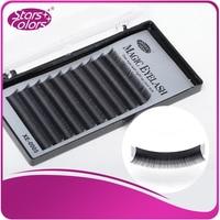 5 Boxes Set Quality Thick Lashes Color Black Magic Eyelash Extensions Fake Eyelash Individual Eyelashes Makeup