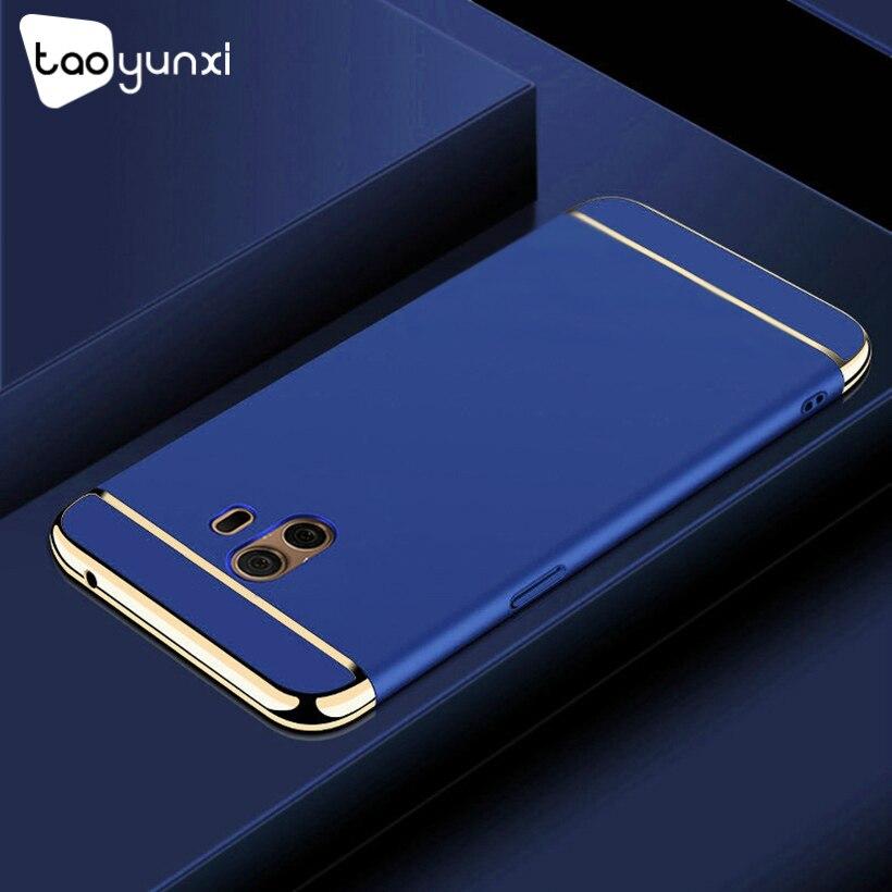 TAOYUNXI Plating Plastic Case For Samsung Galaxy C10 Case Back Cover Coque Funda for Samsung Galaxy C10 6.0 inch Anti-Knock Etui