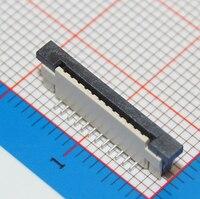 100 Pz Flessibile Connettore del Cavo Piatto di Tipo Verticale 1.0mm 12 P FFC Presa FPC 1mm Passo Pin