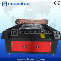 1325 laser machines 100w laser tube textile fabric leather cutting fabric roll cutting machine
