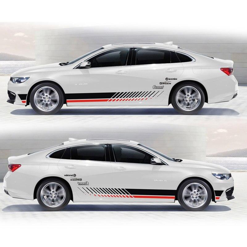 все цены на TAIYAO car styling sport car sticker For Chevrolet Malibu Mark Levinson car accessories and decals auto sticker