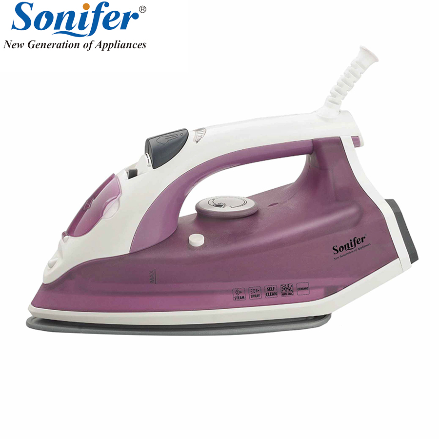 2200W Original Portable Electric Steam Iron For Clothes Three Gears Ceramic soleplate Sonifer jaguar часы jaguar j636 2 коллекция acamar chronograph