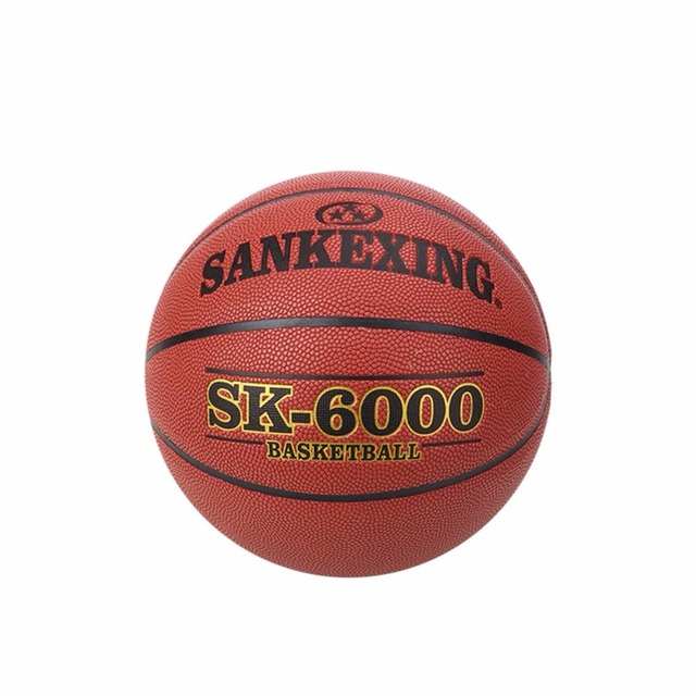 SANKEXING Size 7 Basketball Ball PU Leather Training Exercises baloncesto  Games Mini Basketball For Kids Gifts free shipping! 928cdd237d