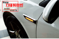 Carmilla Led Side Turning Signals Front Turn Lights Sticker For Chevrolet Cruze 2009 2010 2011 2012