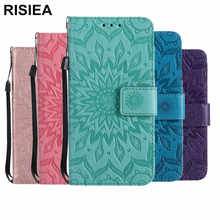 RISIEA Luxury Leather Flip cover Stand Card Wallet Case for NOKIA 9 8 6 5 3 N635 N550 N640 N950 N650 N3310 Case(China)