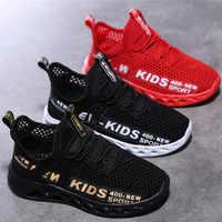 Baskets de course Enfant hiver enfants chaussures de Sport Tenis Infantil garçon Basket chaussures léger respirant fille Chaussure Enfant