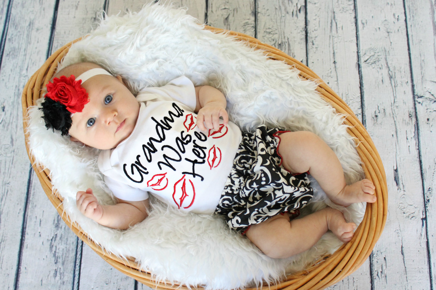 3pcs!!Toddler Newborn Baby Girls Tops Long Sleeve Kiss Romper+PP Pants+Flower Headband Outfit Set Clothes 3