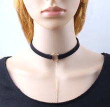 Samyeung 10Pcs Boho Long Chain Choker Necklaces Jewelry For Women Gothic Bar Statement Necklaces Collares Femme Neckless Colar