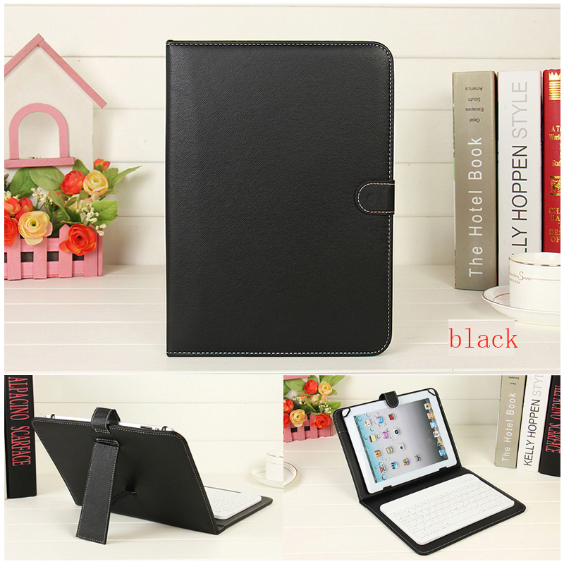 New Wireless Bluetooth <font><b>Keyboard</b></font> <font><b>Case</b></font> For <font><b>iPad</b></font> 2 3 4 5 <font><b>6</b></font> Air 1 2 9.7 Leather <font><b>cases</b></font> Ultra Slim Stand Clamshell Tablet Cover+pen image
