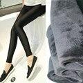 Alta qualidade de inverno maternidade mulheres grávidas calças stretch tecido gloss espessamento modelos upgrade Leggings de todos os jogos quentes