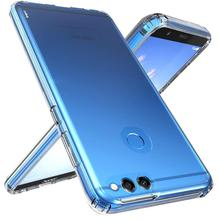 Shock Proof Fit Dirt Resistant Case For Huawei Honor 7X Anti Skid Soft TPU Rubber Absorption Transparent Gel Bumper
