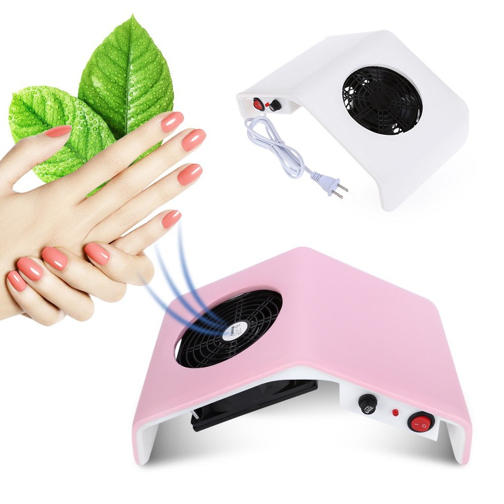 30W Nail Dust Suction Collector UV Gel Tip Dust Manicure Pedicure Machine Vacuum Cleaner Nail Art Salon Suction Dust Collector цены онлайн