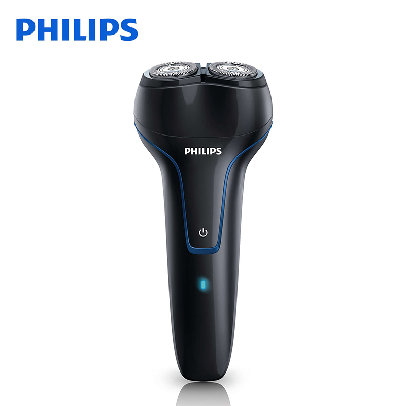 Original Philips Electric Shaver PQ226 Rechargeable With Two Floating Heads Facial Contour Tracking For Men Electric Razor philips electric shaver s330 rotary rechargeable and body wash design for men s flexible veneer system with retail package