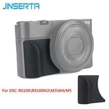 JINSERTA האחיזה המצורף עבור Sony RX100M5 RX100M4 RX100M3 להחליף כמו AG R2 עם M3 מדבקה
