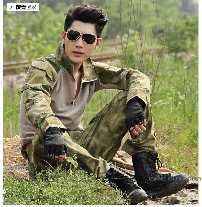 Army Multicam Woodland ACU ATACS camo Combat Uniform Gen3 shirt + pants Military Army Suit with elbow knee pads a tacs tactical combat uniform gen3 shirt pants military army pants with knee pads size s xxl acu multicam woodland digi camo