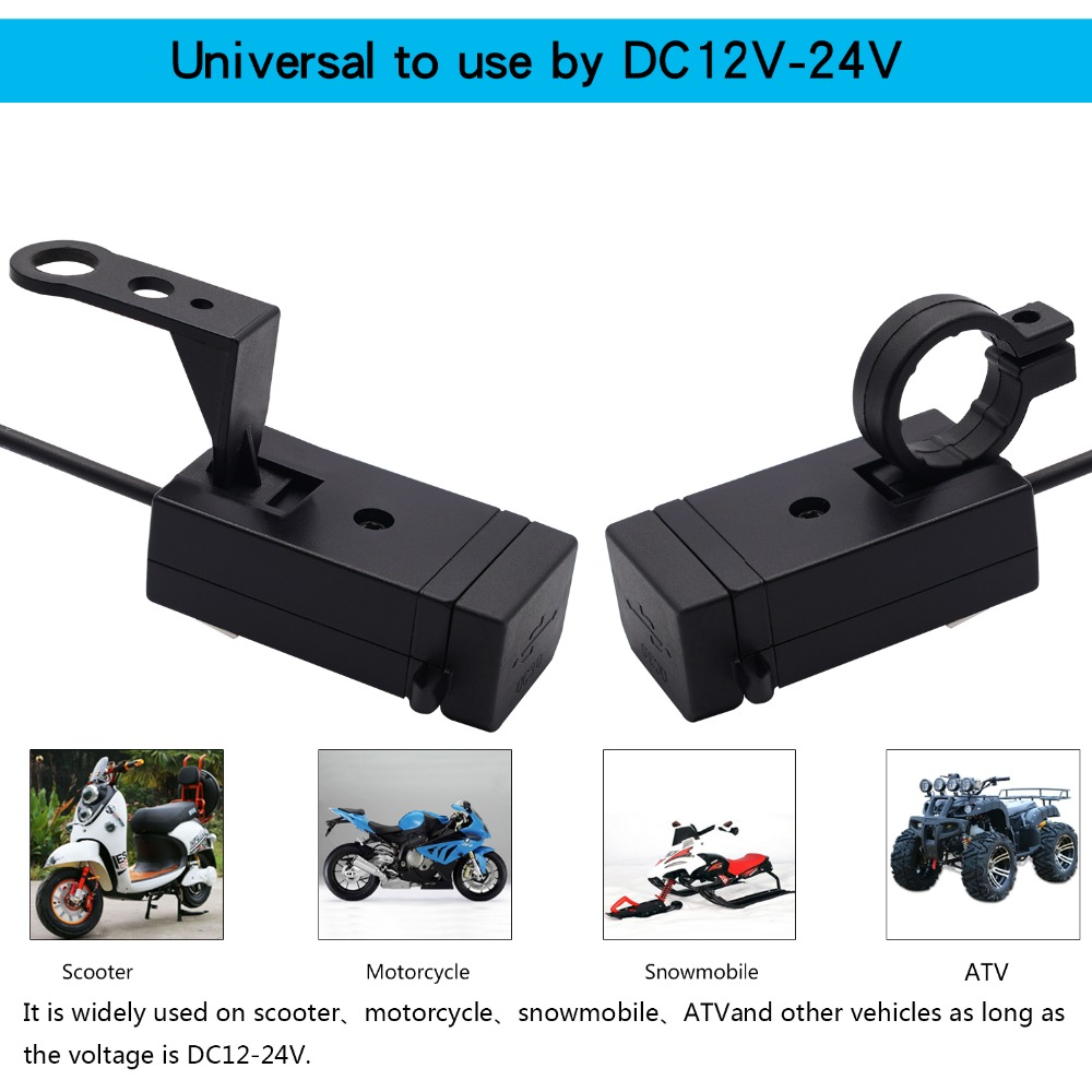 2019 Universal USB Motorcycle Charger IPHONE 5