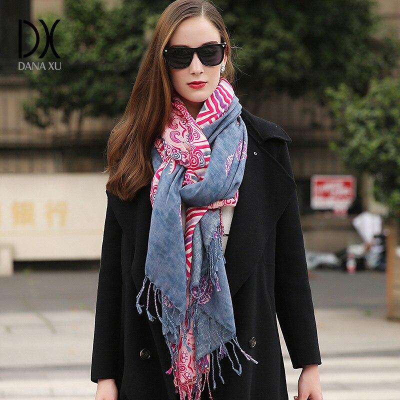 2017 Women Winter Fashion Boho Style Plaid Thick Warm Poncho Cashmere Sweater Pashmina <font><b>Scarves</b></font> and Stoles Oversized Blanket Wrap