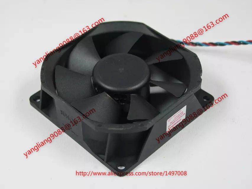 SUNON MF75251V1-Q000-G99 Server Square fan DC 12V 2.7W 3-wire free shipping for sunon mf75251v1 q000 g99 dc 12v 2 7w 3 wire 3 pin connector 90mm server square cooling fan