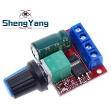 Shenyang DC 4,5 V-35V 5A 20khz LED PWM controlador de Motor DC de Control de velocidad de atenuación Max 90W nuevo