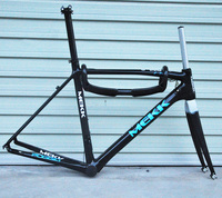 Original Italy MK full carbon 56cm road bicycle frame with headset handle bar seat post