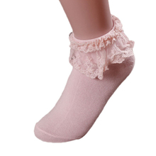 Good Deal New Soft Socks Women Cute Girls Vintage Lace Ruffle Frilly Ankle Socks Princess Girl Cotton Sock 1 Pair