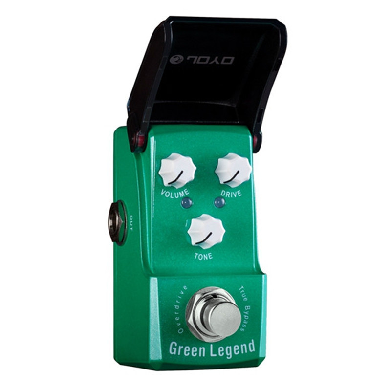 ФОТО JOYO IRONMAN high gain tube overdrive guitar effect pedal overdrive stompbox High-power overdrive booster copy TS-9 ture bypass