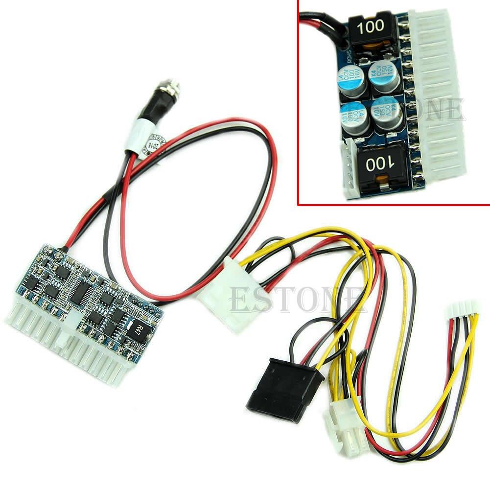 DC 12V 160W 24Pin Pico ATX commutateur PSU voiture Auto Mini ITX Module d'alimentation haute puissance G08 grande valeur avril 4