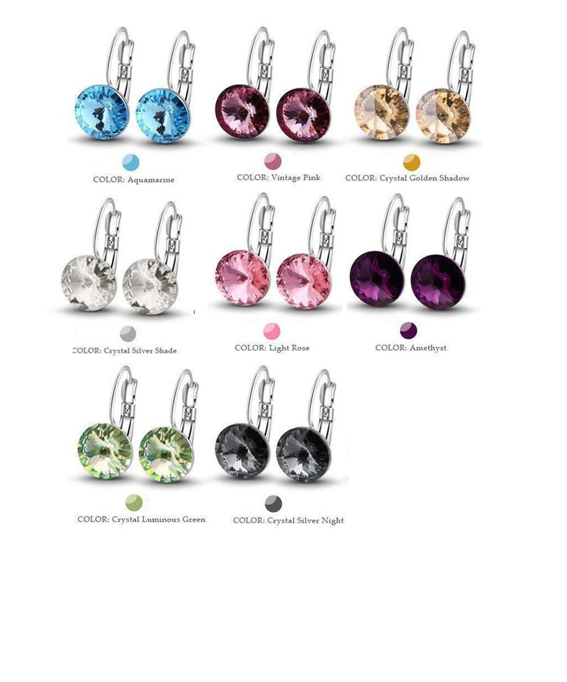Crazy-Feng-Stud-Earrings-with-Stone-Silver-Color-Round-Birthday-Trendy-For-Women-Wedding-Party-Jewelry