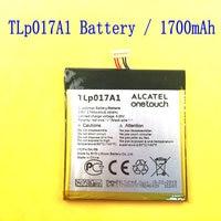 1PCS 100 High Quality 3 8V 1700mAh TLp017A1 TLp017A2 For ALCATEL ONE TOUCH TLp017A1 TLp017A2 Batteria