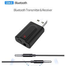 BEESCLOVER 2 In 1 Wireless Bluetooth 5.0 Transmitter Receive
