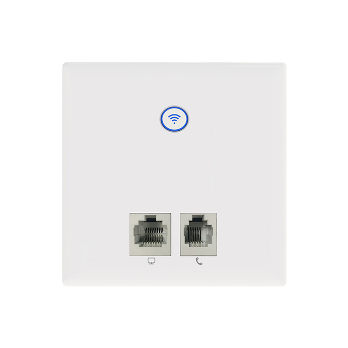 New Wall Embedded Wireless AP Router 2.4G Wireless Wifi Socket Panel Repeater 86 Panel for hotel