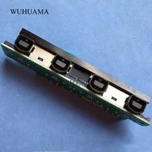 Оригинальный б/у 3 контактный разъем для контроллера Sega Dreamcast DC joysticker разъем подключения 3pin консоль SUB BD 2 KAI