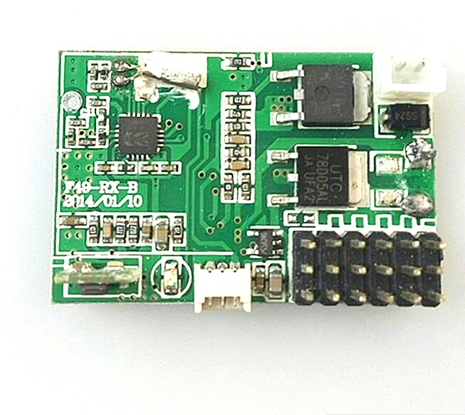 MJX F49 Receiver F649 RC helicopter spare parts PCB BOARD Controller Equipment