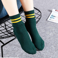 2018 Women Winter Socks High Quality Cotton Long Cocks Fashion Socks 60 Pairs Set
