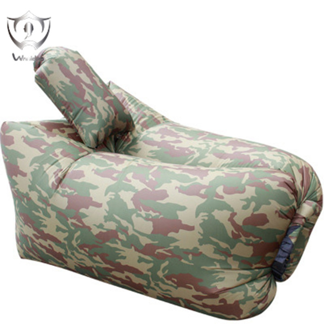 Wnnideo Inflatable Seat Portable lazy Air Sofa Bed with Pillow Lounge Chair Camping Beach Picnic Indoor Outdoor ZF6-1002