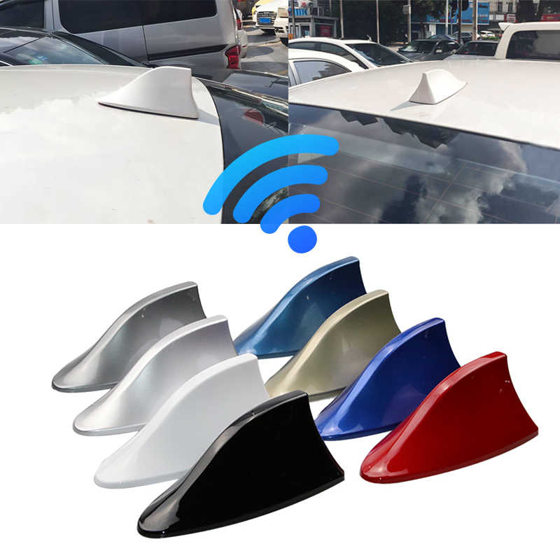 Auto Antennes Haaienvin Antenne Auto Radio Signaal Antennes Dak Antennes voor Renault Nissan Opel Ford Hyundai Auto Styling