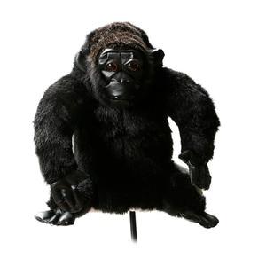 Image 1 - ゴルフクラブヘッドカバーぬいぐるみ動物チンパンジー木製カバーゴルフ保護カバー送料無料