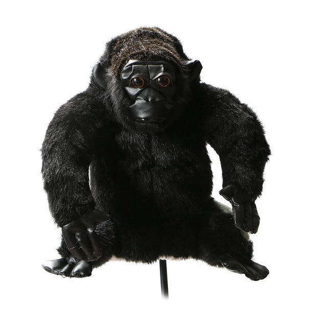 Golf Club Headcover Plush Animal Chimpanzee wood covers Golf   Protection Cover free shipping
