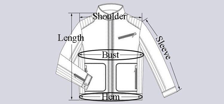 750 jacket shoulder