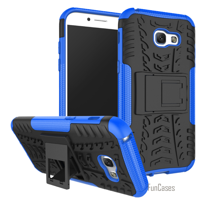 For Samsung galaxy A5 2017 Case Armor Heavy Duty Hybrid Stand Cover Cases For Samsung galaxy A520 A5(2017) A520F 5.2 Daul Color ...