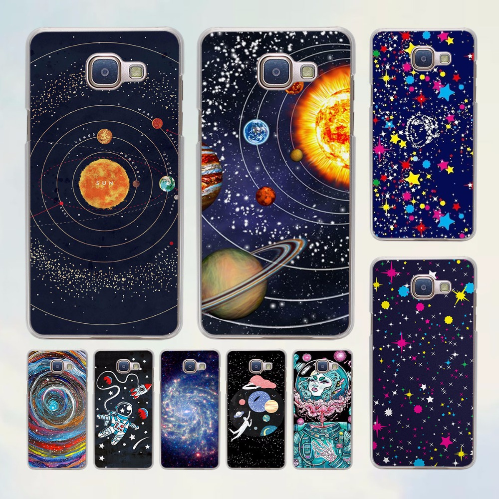 Billionaire Boys stars in space design hard transparent Case for Samsung Galaxy A5 A7 2016 A8 A9 A3 A5 2017