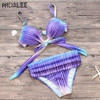 Bikini 2017 New Plus Size Swimwear Women Swimsuit Brazilian Bikini Set Push Up Bathing Suit Swimming