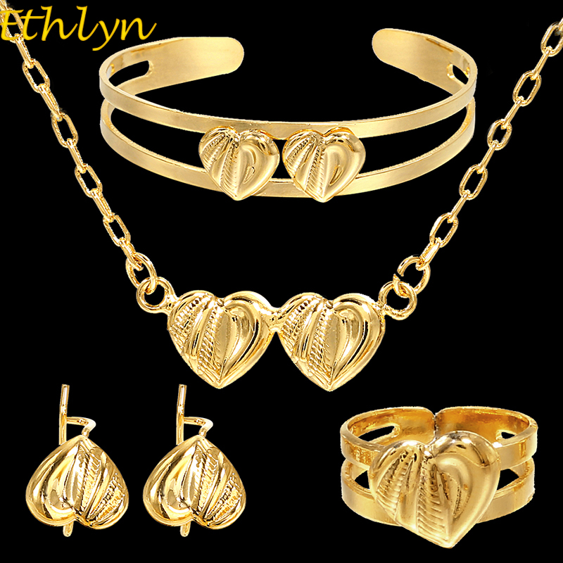 Ethlyn Jewelry Gold Color Fashion