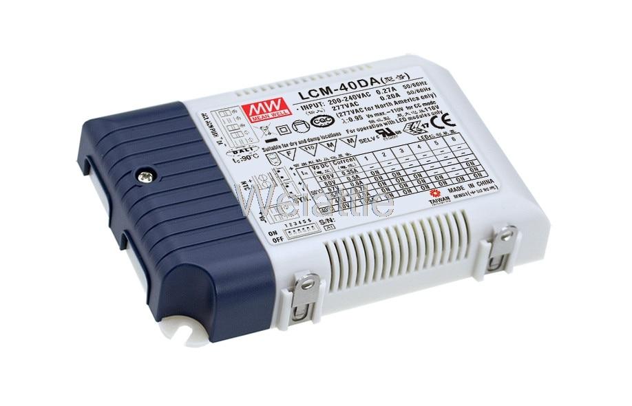 все цены на [Cheneng]MEAN WELL original LCM-40DA 45V 900mA meanwell LCM-40DA 45V 42W Multiple-Stage Output Current LED Power Supply онлайн