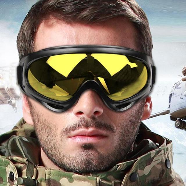 Novo Snowboard Óculos De Esqui de Montanha Snowmobile Da Motocicleta óculos de Esqui Óculos Esporte de Inverno Neve Óculos Gogle