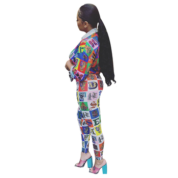 Mirsicas New Ayesha Sexy Two Piece Set Women  Long Sleeve Bodycon Long Pants Vintage Sweat Suits