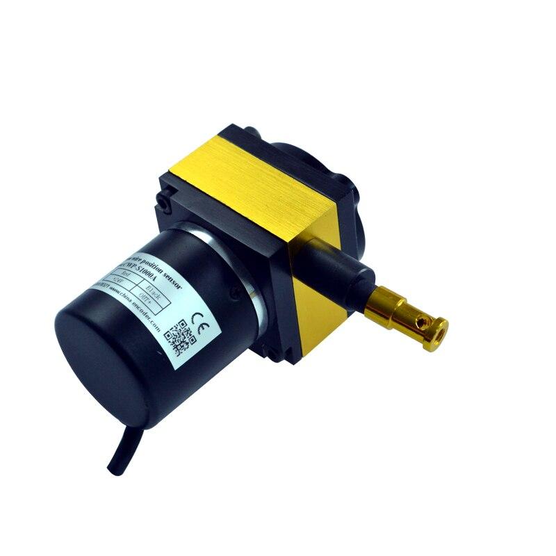 CALT цифровой импульсный выход рисовать Провода строка линейный датчик cesi-s1000 с 1000 мм измерения Длина диапазон yo горшок