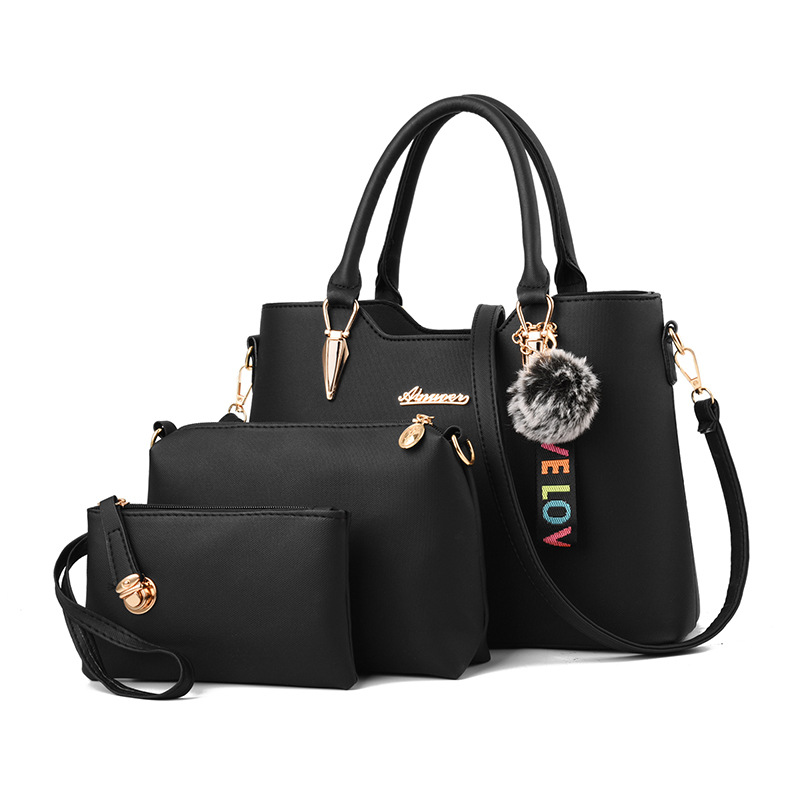 Women Bag Fashion Casual Women's Leather Handbags Luxury Designer Shoulder Bags New Bags For Women 2019 Composite Bag