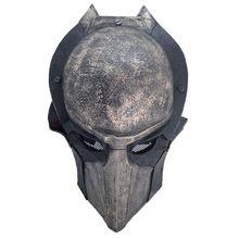 High-grade Airsoft Predator Mask Full Face CS Mask Halloween Party Cosplay Horror mask predator style face mask silver